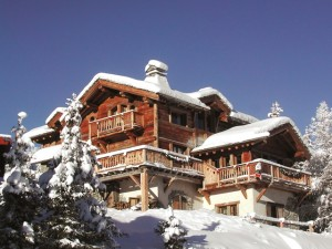 The luxurious Chalet Montana in Courchevel
