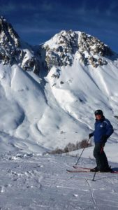 CHUTE ON SIGHT: Some of the couloirs for those who fancy a bit of challenging off piste in the Valloire/Valmeinier area